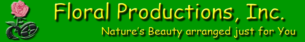 Floral Productions banner
